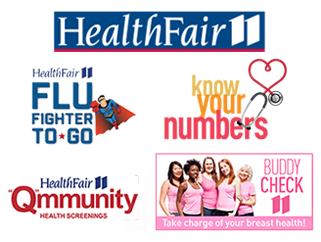 HealthFair11 Collaborative Logos