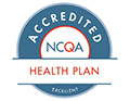 NCQA Excellent Health Plan Badge