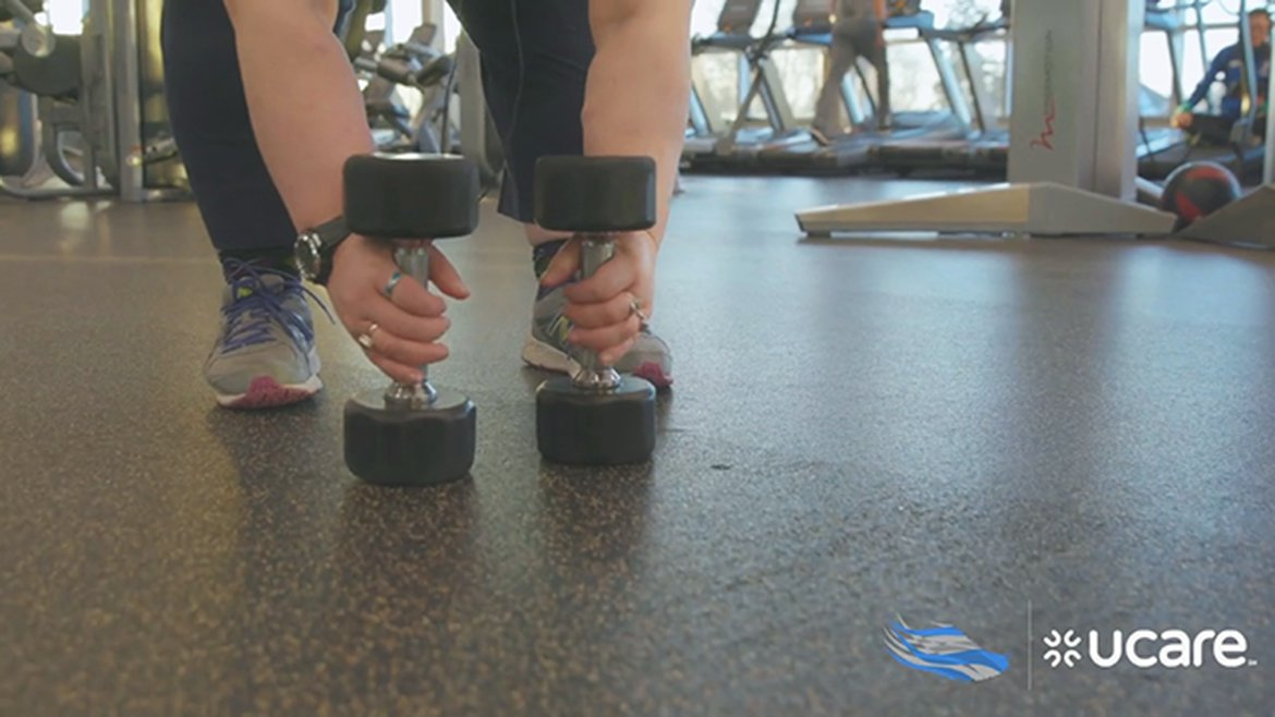Jade gets fit with SilverSneakers and UCare