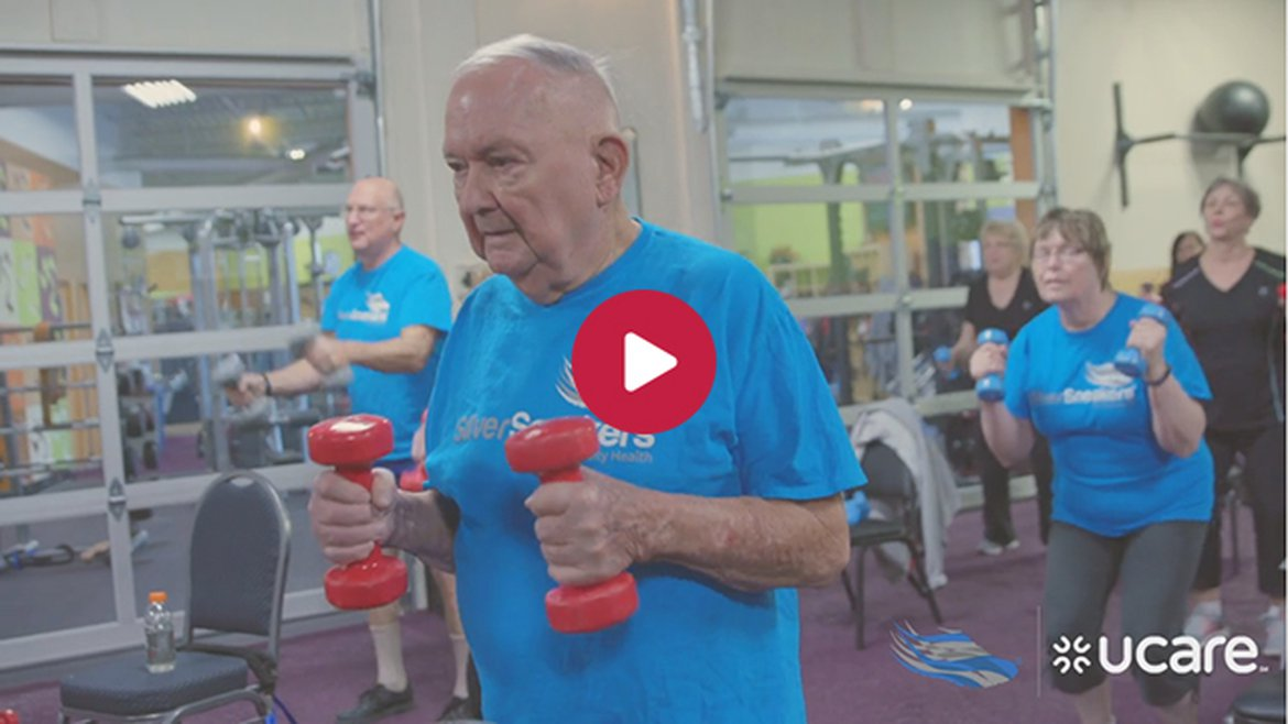 Terry gets fit with SilverSneakers and UCare